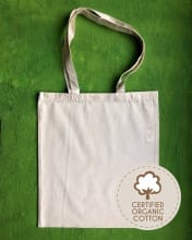 5oz Organic Cotton Bags Logo G