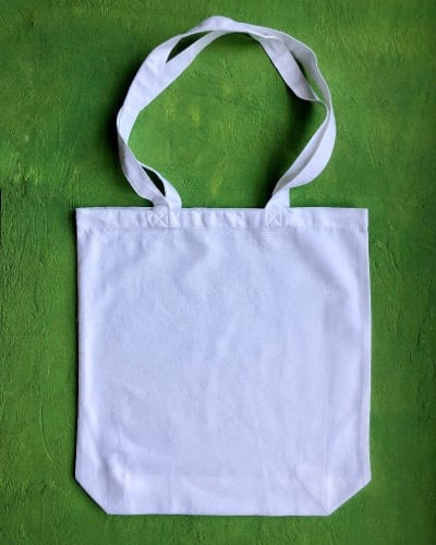 8ox White Canvas Bag G