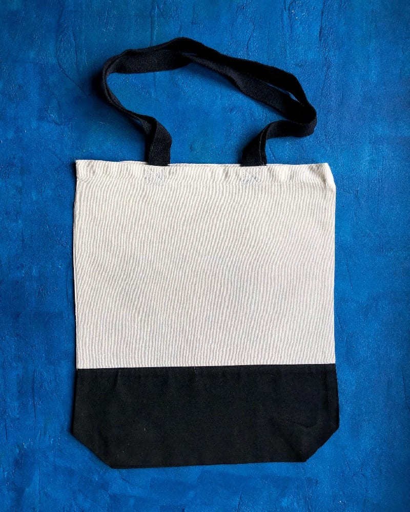8oz Two Tone Canvas Bags