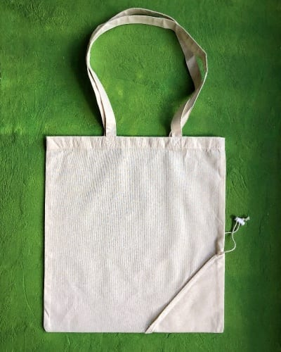 Natural Cotton Fold Up Bag G