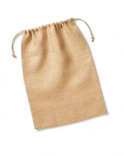 W415 NAT Westford Mill Jute Stuff Bag