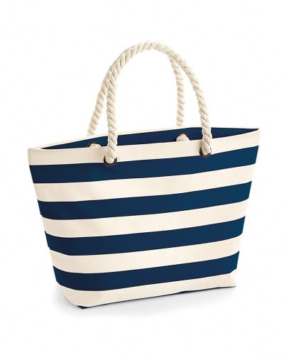 W680 NTNV Westford Mill Nautical Beach Bag