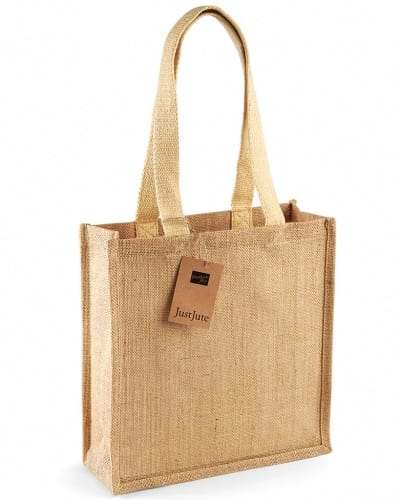 W406 NAT Westford Mill Jute Compact Tote