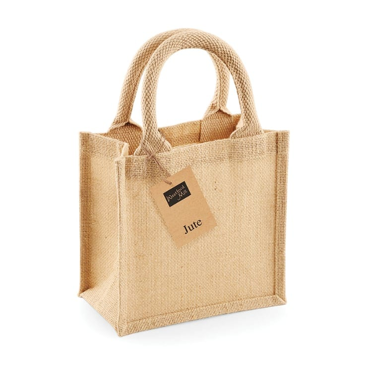 https://cottonbagco.co.uk/product/westford-mill-jute-petite-gift-bag-w411/